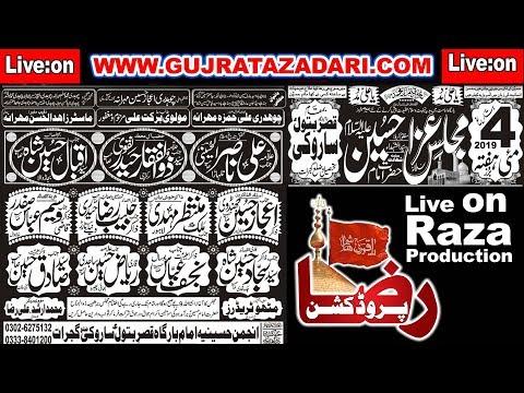 ???? Live Majlis-Aza | 4 May 2019 | Saroki Gujrat ( www.Gujratazadari.com )