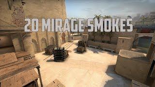 20 Mirage Smokes