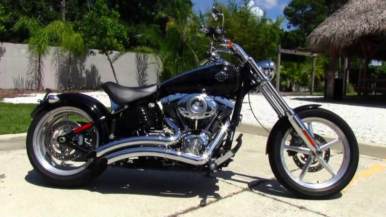 Used 2009 Harley Davidson Fxcwc Softail Rocker C