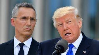 Kansas secretary of state reacts to Trump's NATO speech