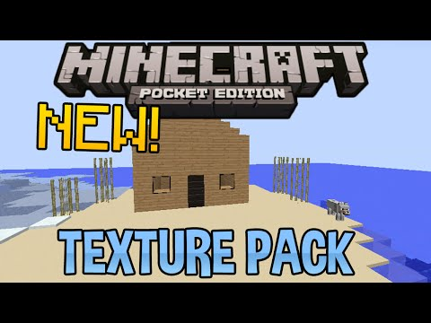 How To Change Minecraft Pocket Edition Texture Packs For Update 0.8.1 | EASY TUT