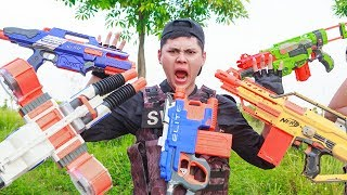 LTT Nerf War : SEAL X Warriors Nerf Guns Fight Attack Criminal Group Brutal Danger