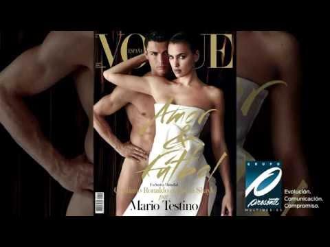 Cristiano Ronaldo desnudo en la revista Vogue España con Irina Shayk thumbnail