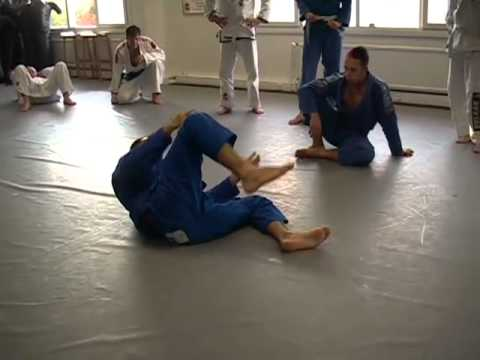 BJJ: Butterfly Guard Sweep Basics