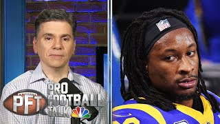 PFT Overtime: Rams' Todd Gurley, Eagles' Malcolm Jenkins both missing at OTAs | Pro Football Talk |
