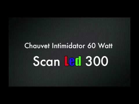 Chauvet Intimidator Scan Led 300 - Madison DJ - Jam Party Connections