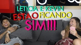LETICIA ESCARIÃO E MC KEVIN ESTÃO FICANDO E CONTEI TUDO!! | #MatheusMazzafera