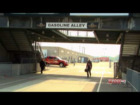 2013 Kurt Busch IndyCar Test at Indianapolis Motor Speedway