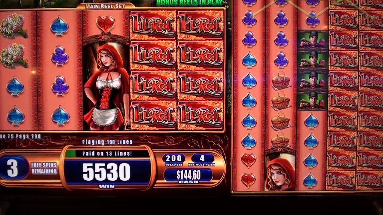 Red Riding Hood slot - Mobil6000