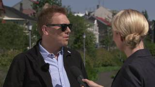 Inspired by Iceland: Jon Gnarr, leader of the Best Party