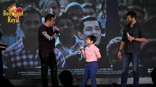 Salman Khan & Child Co Star Matin Have A Fun Filled Evening Of 'Tubelight' Part-2
