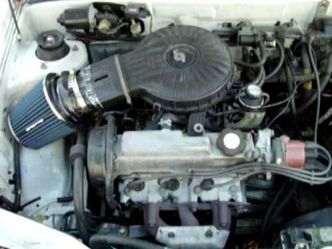 1994 geo metro 3 cilinder suzuki motor running youtube