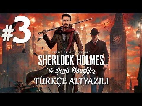 KARAR ANI | Sherlock Holmes The Devil's Daughter Türkçe Altyazılı Bölüm 3