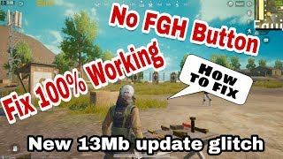 PUBG emulator New 13MB Update PickUP(F,G,H) Glitch Fix 100% Working