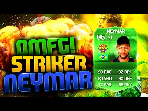 OMFG STRIKER NEYMAR! FIFA 15 ULTIMATE TEAM