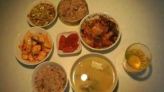 Ю.Корея 75 Что мы едим дома №3