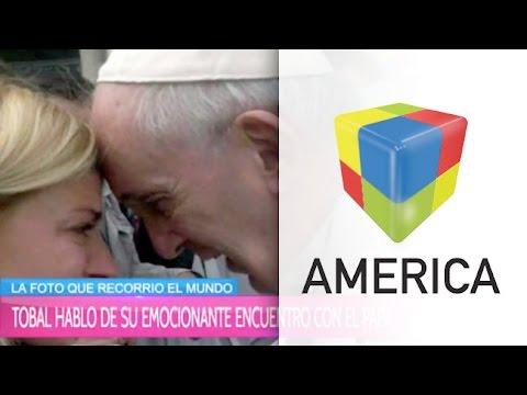 Tobal habló del emotivo encuentro con el Papa