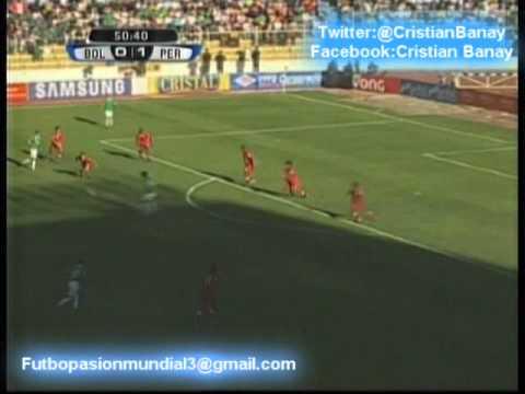 Bolivia 1 Peru 1 Eliminatorias Rumbo a Brasil 2014 Los goles (12/10/2012)