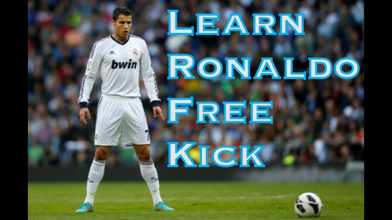 Learn Cristiano Ronaldo Free Kick - Football Soccer skills - YouTube