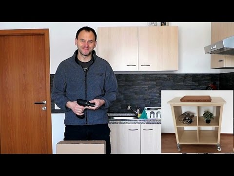 Mobiler Küchen-Arbeitstisch *unter 50.- Euro*
