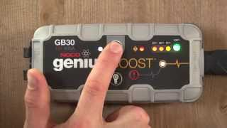 How To Jump Start A Car Battery - NOCO Genius Boost GB30 UltraSafe Lithium Jump Starter