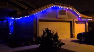 Led Lights G35 String Set : Play youtube video: GE G35 String Color Effects LED Color Changing Christmas Lights