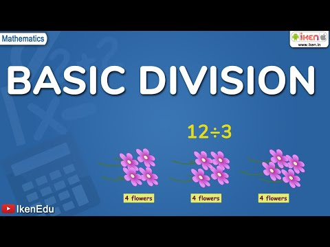 Maths Learning: Concept of Basic Division