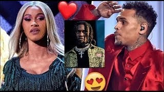 Chris Brown Says Offset is Mad Cuz I Smashed Cardi B First & the Baby Really Mines