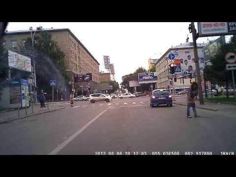 Ссут на дорогу Новосиб 08.08.13