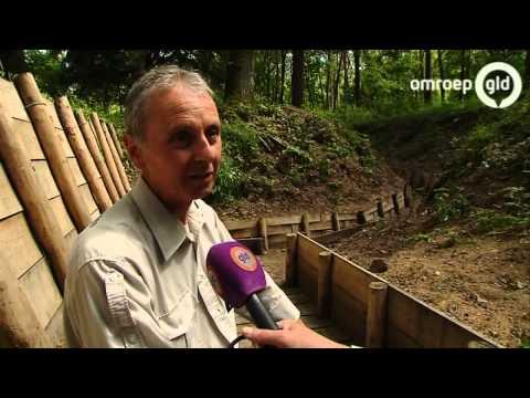 Duitse loopgraaf in Beek open voor publiek