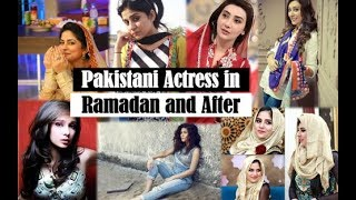 Pakistani Actresses In Ramadan and After - Juggan Kazim, Ayesha Khan,  Sanam Baloch, Ayesha Omer