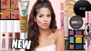 NEW POPULAR DRUGSTORE MAKEUP TESTED | FULL FACE