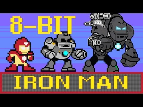 8-bit Cinema: Iron Man in 60 Seconds