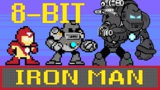 Iron Man - 8-bit Cinema!