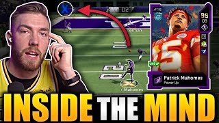 I GLITCHED 99 Patrick Mahomes to throw this TD -- Inside The Mind Ep 14 Madden 20 Gameplay