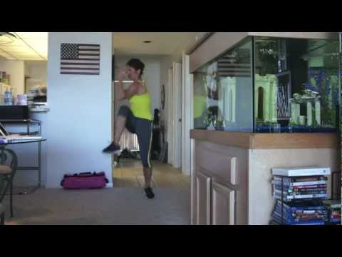 REAL TIME Bodyrock My Body Rocks Workout Plus ABS and Burpees for Lisa-Marie