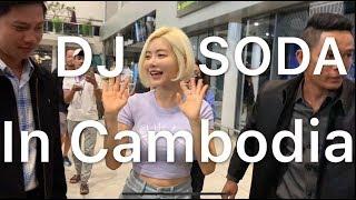 Dj Soda at Airport In Cambodia