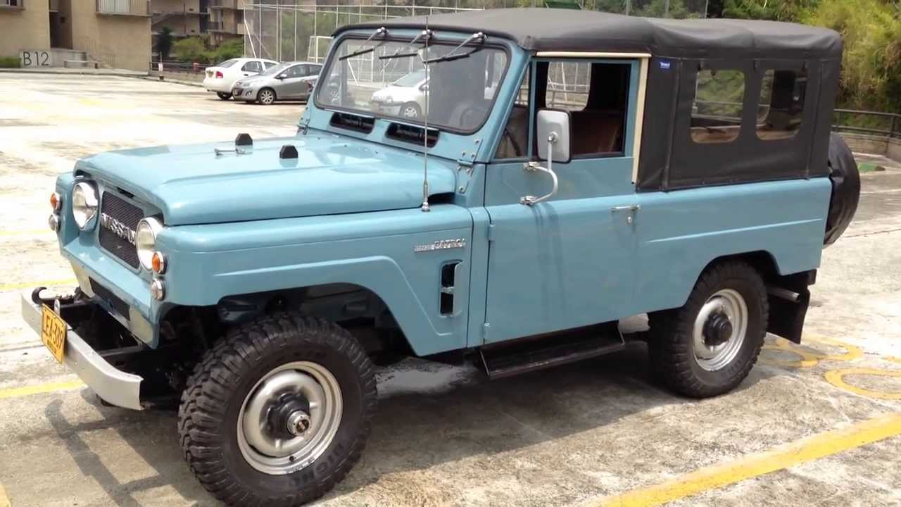 Volcan 4x4 1979 Nissan Patrol LG-60 Ready for Export to ...