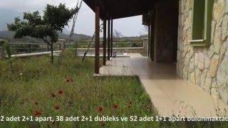 Ömrünüze Ömür Katacak Datça'da 190 Konuttan Oluşan Satılık Villalar