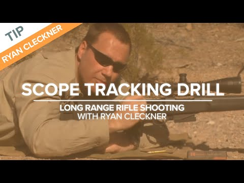 Scope Tracking - Long Range Shooting Technique