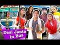 Types of People in Desi Bus - Part 2   Lalit Shokeen Films  