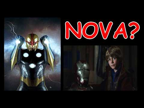 Nova In Iron Man 3 & Guardians of the Galaxy??