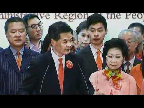 Hong Kong notables pick Beijing loyalist amid protests  Video  Reuterscom.flv