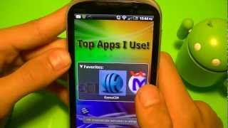 Top 5 apps for Android that I use! Most are FREE!