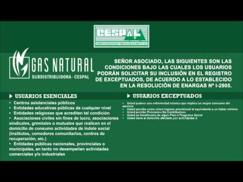 Cespal   Resolucion Gas Junio