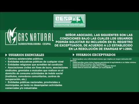 Cespal   Resolucion Gas Junio