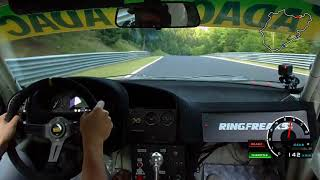 Nurburgring: Heel and toe, Senna style!