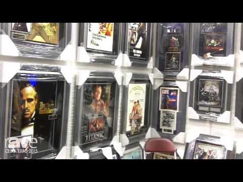 CEDIA 2015: Millionaire Gallery Sells High End Memorabilia, Talks Silver Screen Collection