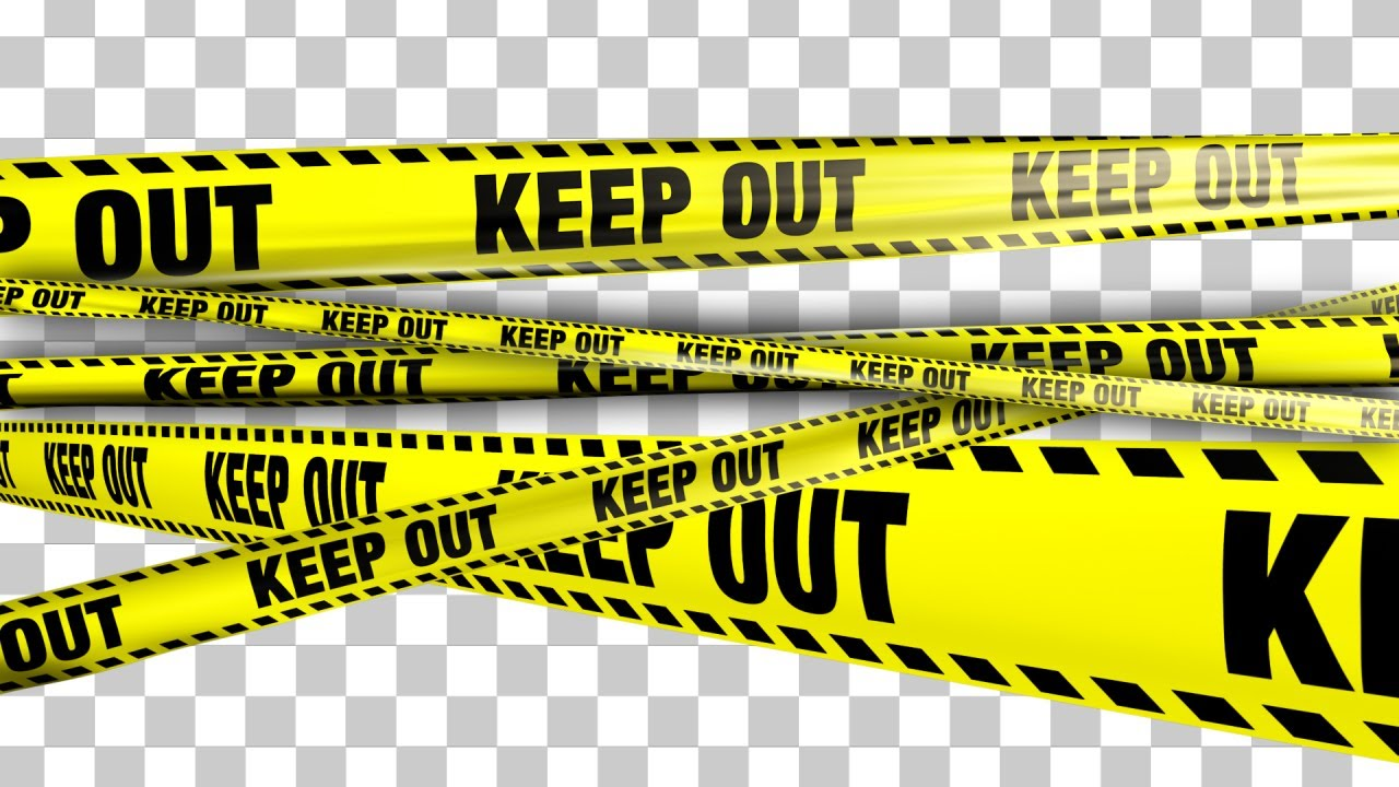 Yellow Keep Out Boundary Tape - 5 Videos - YouTube