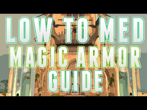 Runescape 3 – Low to Medium Magic Armor Guide for Ironman